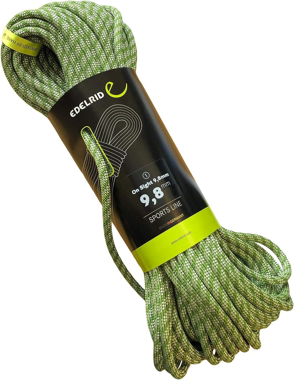 EDELRID On Sight - Cuerda de escalada (9,8 mm)