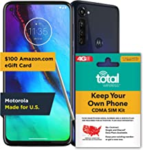 $200 » Total Wireless Moto G Stylus Prepaid Smartphone - Indigo - 4GB RAM - 128GB - Sim Card Included – CDMA