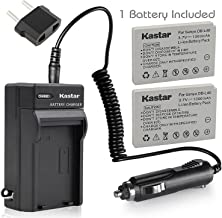 Kastar Battery X2 & AC Travel Charger for Sanyo DB-L40, DB-L40AU and Sanyo Xacti DMX-HD1, DMX-HD1A, DMW-HD2, DMX-HD15, DMX...