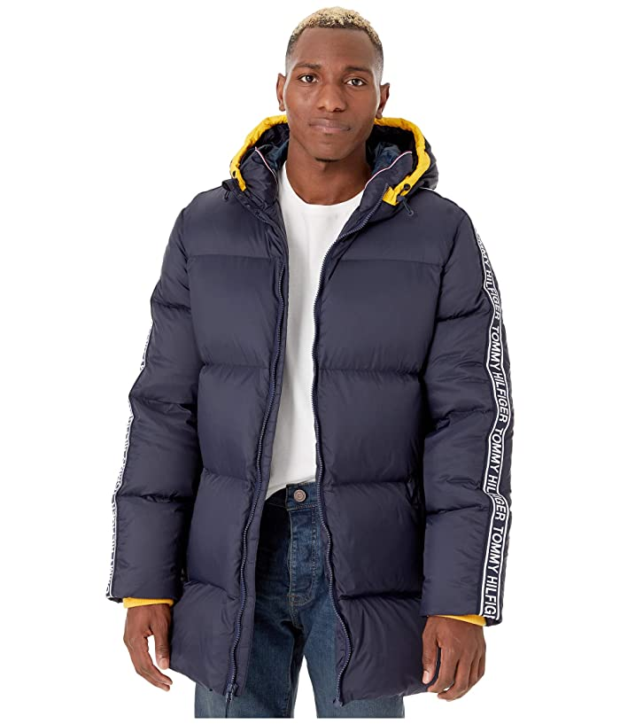 Tommy Hilfiger Adaptive Hooded Ski Jacket (Midnight) Men