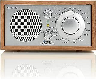 Tivoli Audio M1BTSLC Model One BT Bluetooth AM/FM Radio (Cherry/Silver)