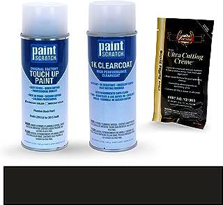 PAINTSCRATCH Phantom Black Pearl LZ9Y/L8 for 2013 Audi S4 - Touch Up Paint Spray Can Kit - Original Factory OEM Automotive Paint - Color Match Guaranteed