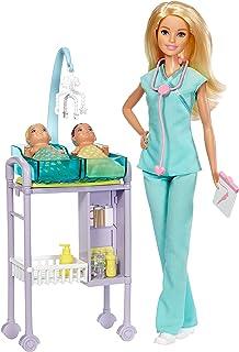 باربي دمية دكتورة الاطفال للبنات - DHB63 DVG10