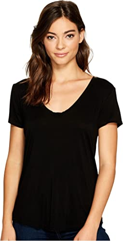 Deep U-Neck Top