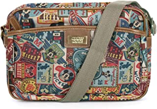 X Disney Mickey Label Pattern Bag