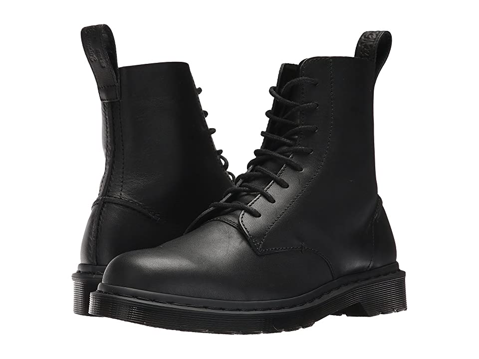 Dr. Martens Pascal Decon 8-Eye Boot (Black Naples) Men