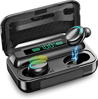 $25 » Sponsored Ad - Bluetooth 5.0 Headset Earbuds Headphones Built-in Microphone and Charging Box, 3D high-Definition Stereo No...