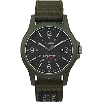 Timex Men's Expedition Acadia Solar-Powered 40mm Watch