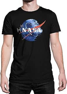 Threadz Death Star NASA T-Shirt