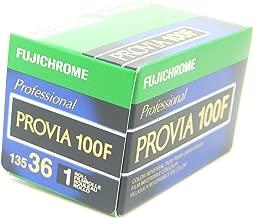 Fujifilm Fujichrome Provia 100F Color Slide Film ISO 100, 35mm, 36 Exposures