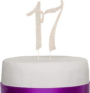 Best 17th birthday cake girl Reviews
