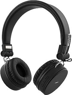 STREETZ HL-421 justerbart pannband över örat hopfällbara hörlurar – svart