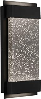 """Artika GB390L HDBL Essence Bubble Glow Box LED Porch Sconce Cylinder, 6"""" Modern Wall Mount Weather Resistant Outdoor Ligh..."""