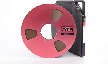 """Long Play Analog Recording Tape by ATR Magnetics   1/4"""" MDS-36 - Modern Classic Sound   10.5"""" NAB Reel   3600' of Analog Tape"""