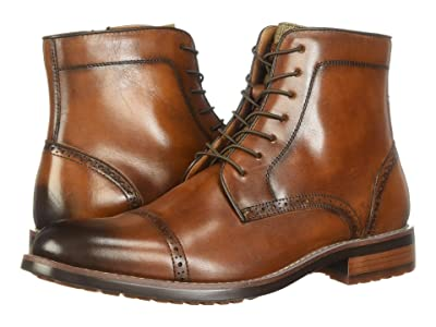 Kenneth Cole Reaction Kelby Boot (Cognac) Men