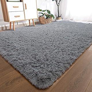 YOH Modern Large Soft Fluffy Shaggy Area Rug for Bedroom Living Room Indoor Floor Home..