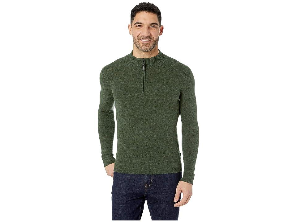 Smartwool Sparwood 1/2 Zip Sweater (Scarab Heather) Men