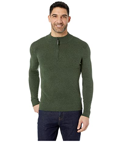 Smartwool Sparwood 1/2 Zip Sweater (Scarab Heather) Men