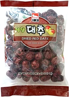 16 Oz Big Dried, Haitai Dried Red Date (Jujube) - ?? ?? ?? (Red Date / Jujube (16 oz), 1 Pack