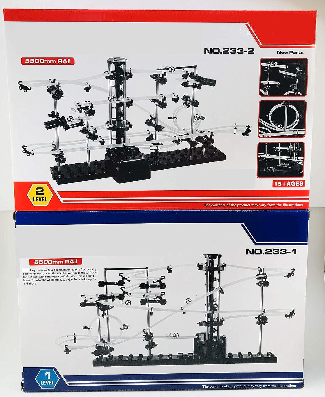 YESY Spacewarp Level 1 and 2 Gift Set Marble Coaster Construction Set