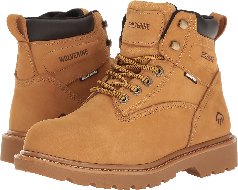 WOLVERINE Womens Floodhand Waterproof 6 Soft Toe Work Boot US