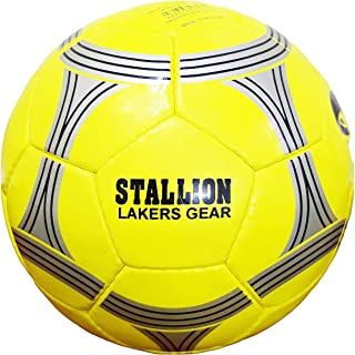 INAYA - Football Training Ball Size 5, 32 Panels Official Size, Weight Indoor and Outdoor Professional, Handmade Soccer ball