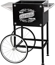 6402 Black Replacement Cart for Larger Paducah Style Great Northern Popcorn Machines