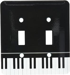 3dRose LLC lsp_112947_2 Black Piano Edge Baby Grand Keyboard