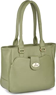 Aisna Women's Kate Handbag (ASN-162)(Green)