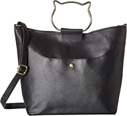 Cat Shaped Ring Handle Tote
