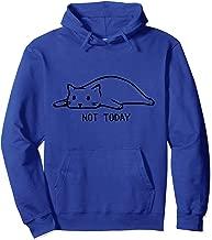 Not Today Cat Hooded Sweatshirt