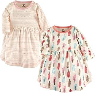 Girls' Organic Cotton Long-Sleeve Dresses