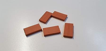 ZIEGEL,MATTONCINI,Brique,LADRILLO 03013 Muro Irregular 14X5X5 mm Pieces 300 Domus Kits Bricks Ref