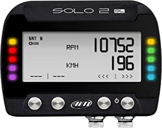 AiM Sportline SOLO2 DL GPS Lap Timer and Dash Logger with OBD2 Data Connection Cable (X47 Series)