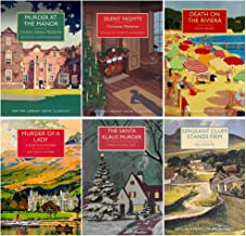 British Library Crime Classics 6 Books Collection Set (Murder at the Manor,Silent Nights,Death on the Riviera,Murder of a Lady, The Santa Klaus Murder, Sergeant Cluff Stands Firm)