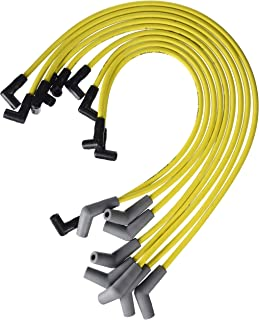 Ford Racing M12259Y301 Spark Plug Wire Set, Yellow