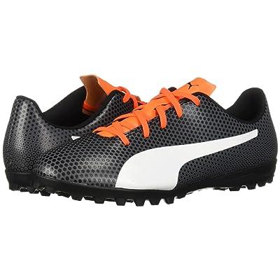 Puma Kids Spirit TT (Little Kid/Big Kid) (Puma Black/Puma White/Shocking Orange) Kids Shoes