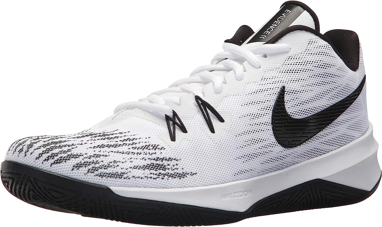 Nike Mens Zoom Evidence II White Black-White