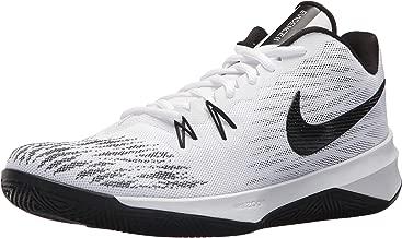 Nike Mens Zoom Evidence II White/Black-White (10.5 D US)