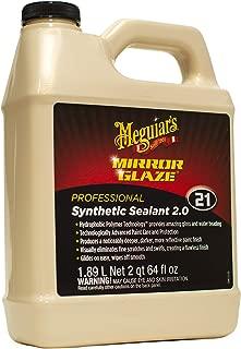 Meguiar's M2164 Mirror Glaze Synthetic Sealant 2.0, 64 Fluid Ounces, 1 Pack