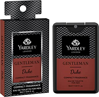 Yardley London Gentleman Duke Compact Perfume, 18ml