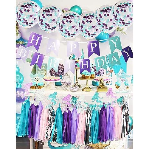 Mermaid Birthday Amazon Com