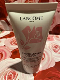 Lancome Creme-mousse Confort Comforting Cleanser Creamy Foam Dry Skin 1.7 fl oz (50 ml)
