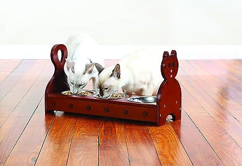 2021 Etna Products TT Wood Multi Cat 2021 Feeder wholesale (Brown) sale