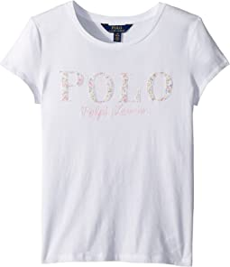 Polo Ralph Lauren Kids - Floral Polo Jersey T-Shirt (Little Kids/Big Kids)