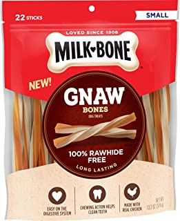 Milk-Bone Gnawbones Dog Treats, Long Lasting, Rawhide Free