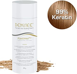 Densitee Hair Building Fibers - 28 gr/0.99oz - Instant Solution - Conceals Hair Loss and Covers Up Roots - Densifies Thinning Hair - Microfibers of Natural Keratine - Men & Women - Auburn