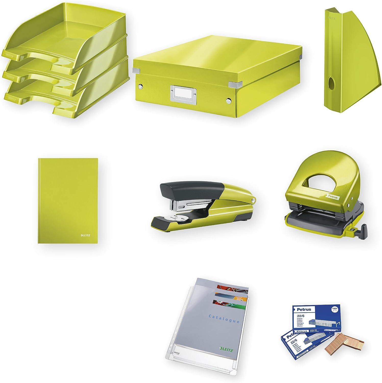 Leitz 94800064 – Set für Büro, Grün B01N95TM5H | Perfekt In Verarbeitung