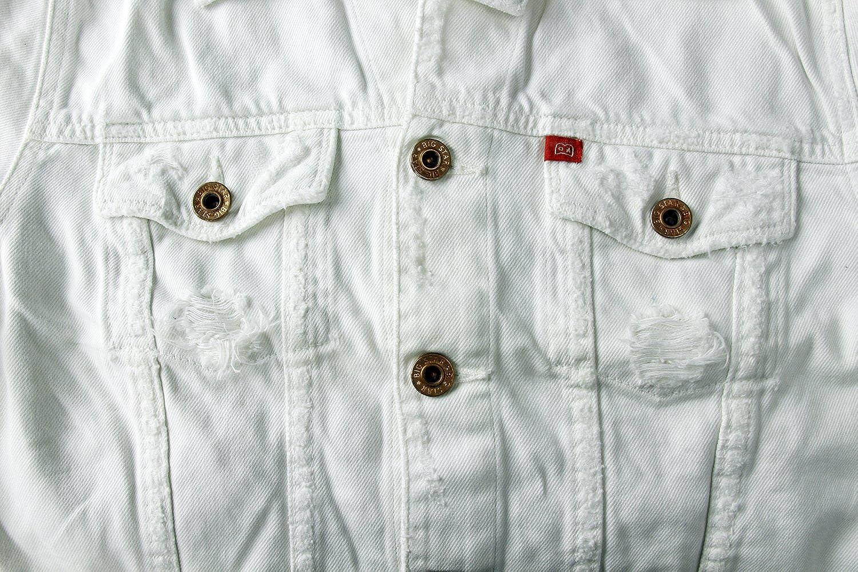 Big Star Women's White Jean Jacket