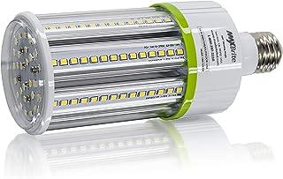 20W LED Corn Light Bulb Natural White 5000K Replaces 150W, 2,600 lumens Medium Base E26, 100-277V AC UL Certified
